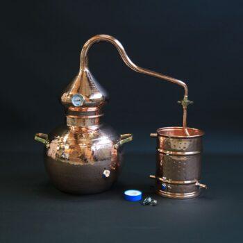 L'alambic traditionnel en cuivre type A | Alambic Distiller