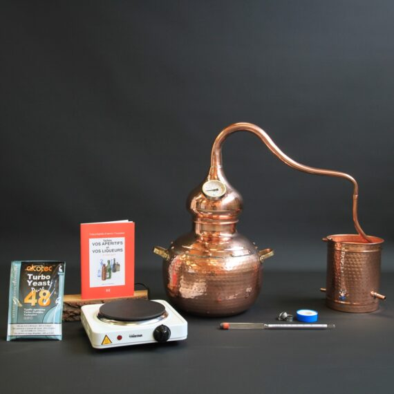 Ensemble complet Alambic traditionnel type B | Alambic Distiller
