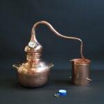 L'alambic traditionnel en cuivre type B   Alambic Distiller