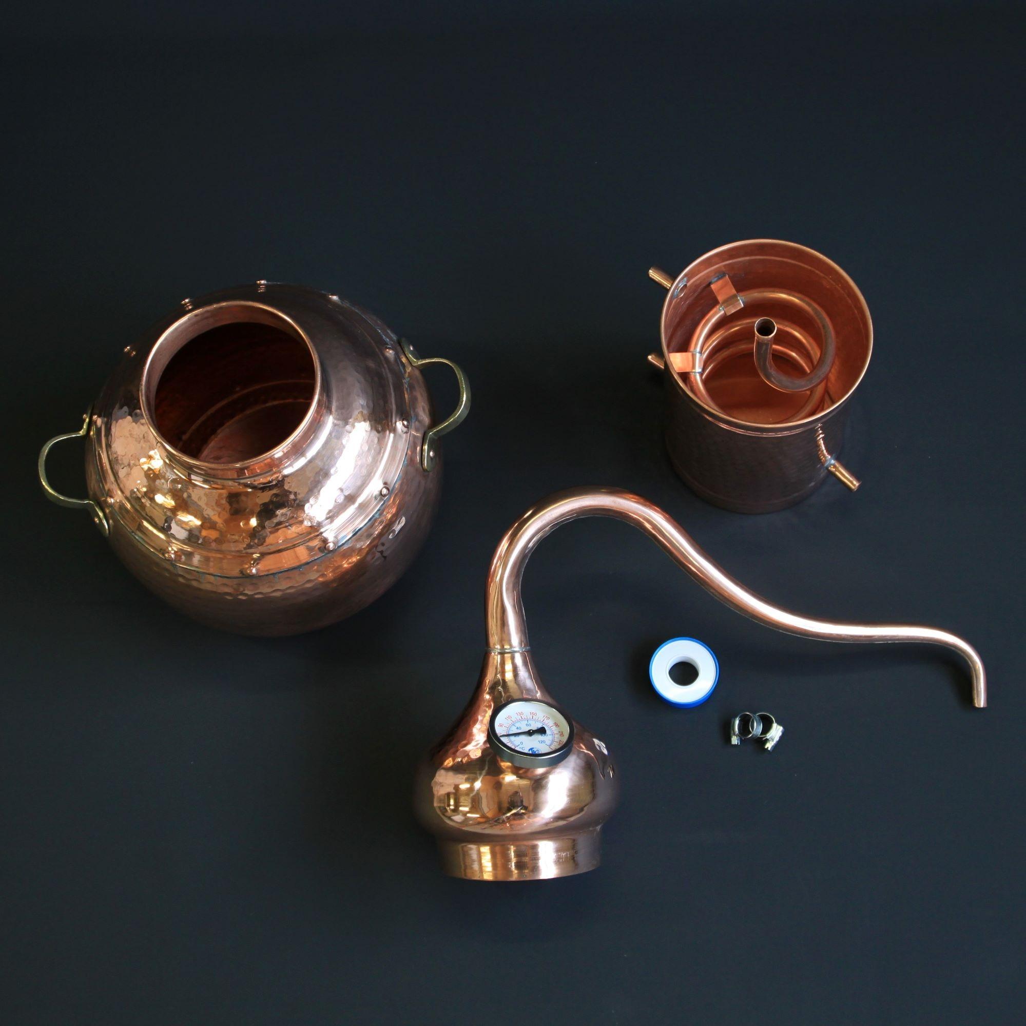L'alambic traditionnel en cuivre type B | Alambic Distiller