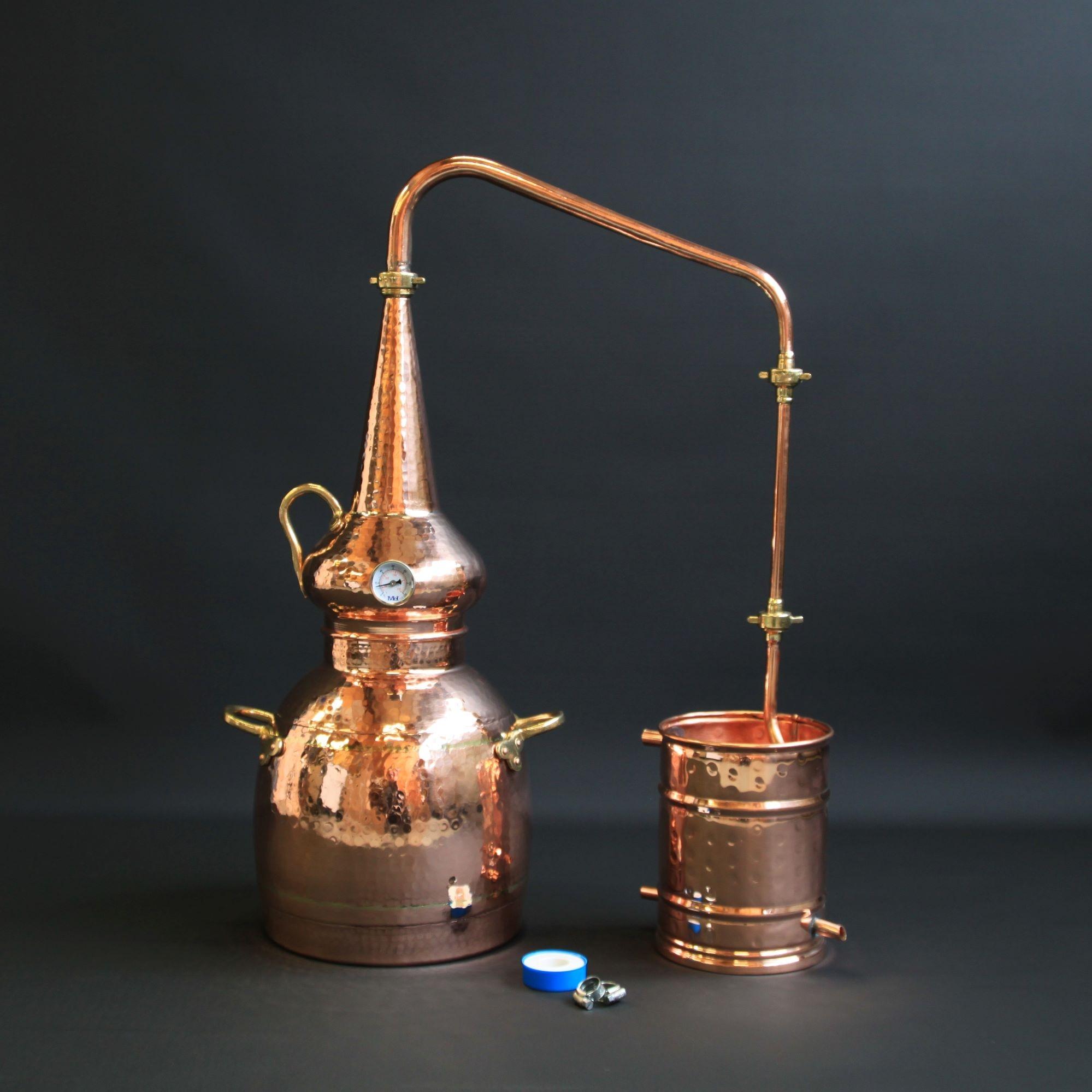 L'alambic à whisky en cuivre | Alambic Distiller