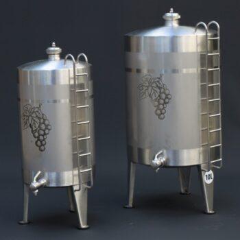 Fût à liqueur en acier inoxydable | Alambic Distiller