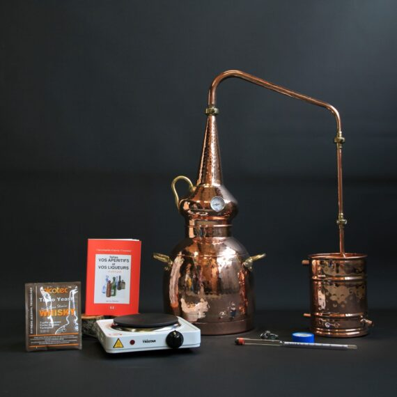 Ensemble complet Alambic à whisky | Alambic Distiller
